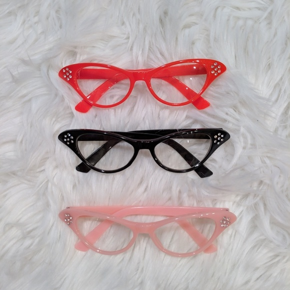 Accessories - Cool Cat eye rockabilly glasses